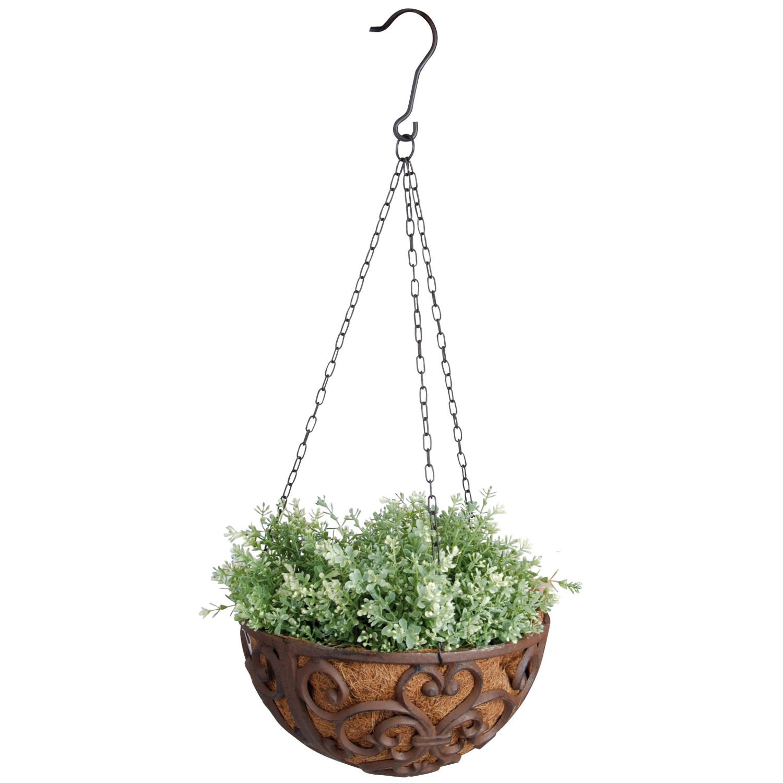 hanging basket gusseisen 30 cm grosse blumenampel. Black Bedroom Furniture Sets. Home Design Ideas